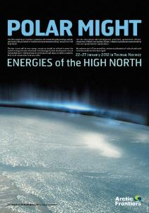 Go to Arctic Frontiers 2012 - Energies of the High North