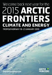 Go to 2015 Arctic Frontiers - Climate and Energy